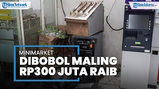 Minimarket di Bantargebang Bekasi Dibobol Rampok, Mesin ATM Hancur, Uang Ratusan Juta Digasak