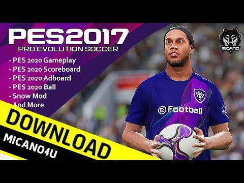 PES 2020 Full ModPack For PES 2017 | Download & Install