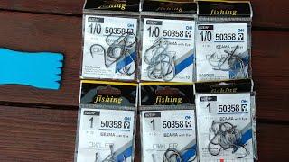 Рыболовные крючки для вязания мушек