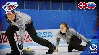 Switzerland v Russia - Round-robin - World Mixed Doubles Curling Championship 2017