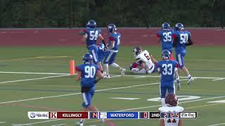 Football highlights: Killingly 42, Waterford 14