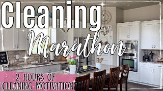 SPRING CLEAN WITH ME MARATHON 2019 | 2 HOURS OF SATISFYING SPEED CLEANING | BEST CLEANING MOTIVATION