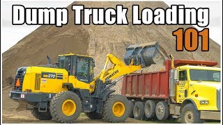 How to Load a Dump Truck | Heavy Equipment Operator Training