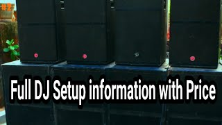 Full DJ Setup with Price TechTechniques...