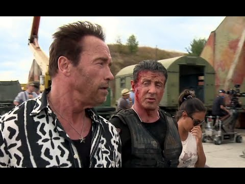 The Expendables 3 (B-Roll)