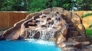 Pool Designs With Waterfalls ᴴᴰ █▬█ █ ▀█▀ Diy Backyard Ideas For Your Outdoor Space