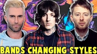 7 Bands Who COMPLETELY Changed Their Sound