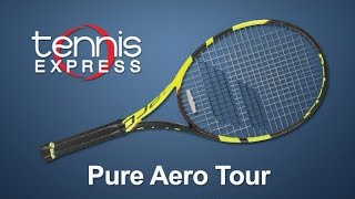 Ρακέτα τέννις Babolat Pure Aero Tour video