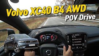 [글로벌오토뉴스] 볼보 XC40 B4 AWD 1인칭시점 주행영상