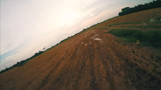 FPV freestyle Rice fields