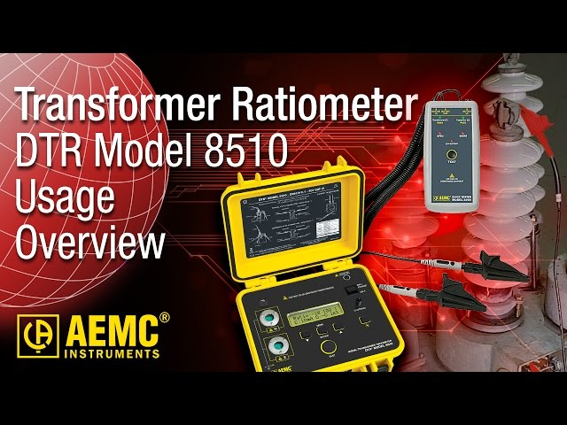 AEMC® - DTR® Model 8510 - Usage Overview at Electricity Forum