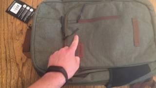 Timbuk2 Uptown TSA Rucksack Unboxing und erster Eindruck