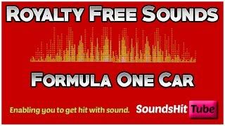 F1 Car Noise - Royalty Free Sounds