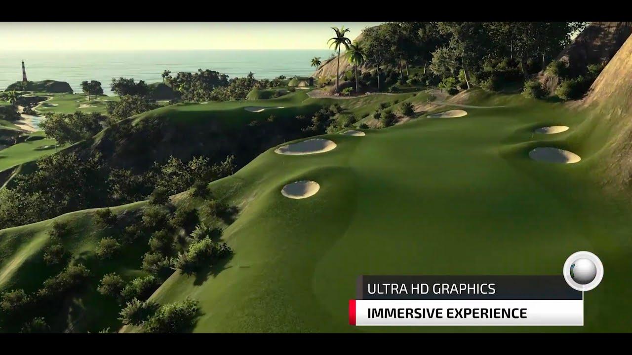 Golf Simulator With 150k Golf Courses Virtual Golf Indoor Golf