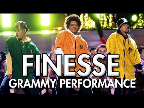 Bruno Mars and Cardi B - Finesse (LIVE From The 60th GRAMMY'S) DANCE VIDEO   MihranTV