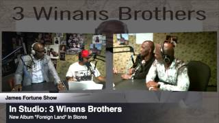 3 Winans Brothers talk about making Album