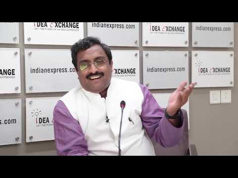 Idea Exchange With BJP General Secretary Ram Madhav