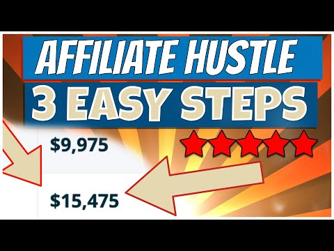 3 EASY STEPS to AFFILIATE MARKETING SUCCESS ($25-150/Day) | AFFILIATE MARKETING FOR BEGINNERS 2021