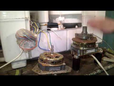 Сатурн - нет отжима, как поменять сальник и подключить мотор центрифуги