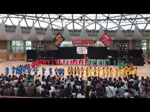大川小学校4年生(ジュニアフェスタ) YOSAKOIかすや祭り 2019.10.12(土)