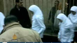 Oslobođene egipatske demonstrantice