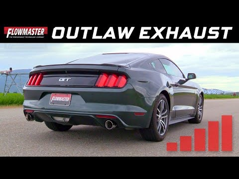 2015-17 Ford Mustang GT 5.0L - Outlaw Axle-back Exhaust System 817732