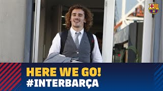 Trip to Milan before the Champions League match against Inter