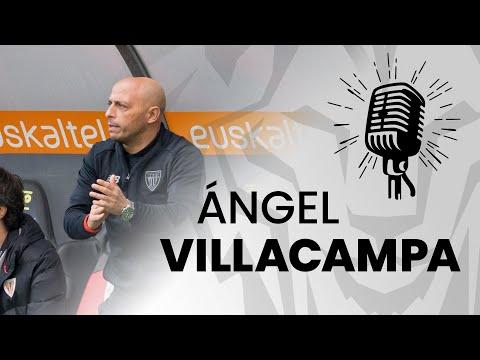 🎙 Ángel Villacampa | post Athletic Club 0-0 Rayo Vallecano | J12 Primera Iberdrola