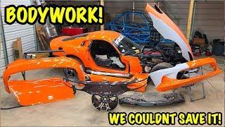 "Rebuilding A Wrecked 2014 Dodge Viper TA ""TIME ATTACK"" PART 10"