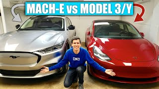 Ford Mustang Mach-E vs Tesla Model 3, Model Y - Tesla's Still King