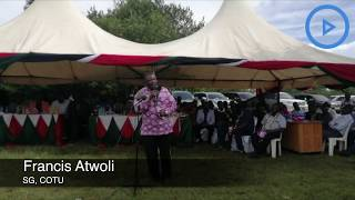Atwoli hits out at Ruto over BBI report