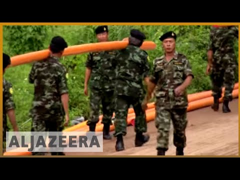🇹🇭 Rescuers pour in to help Thailand find missing football team   Al Jazeera English