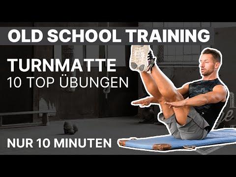 Workout mit der Gymnastikmatte: Die Top 10 Übungen mit Arne Derricks   ARTZT