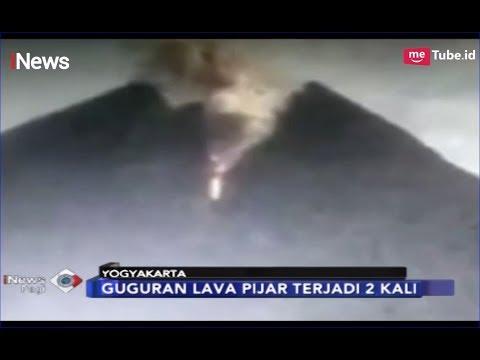 Gunung Merapi Keluarkan Lava Pijar Sebanyak 2 Kali Mengarah ke Tenggara - iNews Pagi 18/02