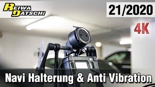 Motorrad Navi Halterung TomTom Rider 550 & Anti Vibration Platte - by donner-tech.de #21/2020