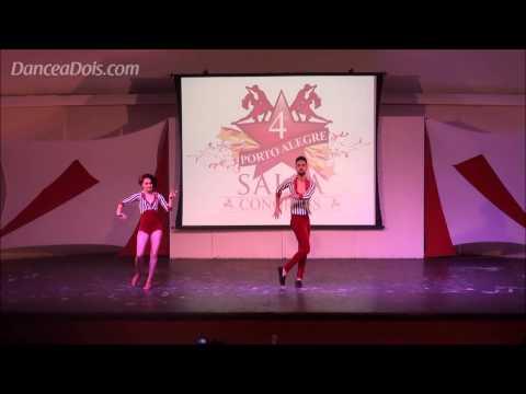 Paulo Burracha & Janaina Martins Porto Alegre Salsa Congress