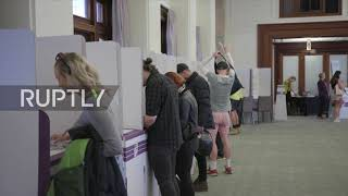 Australia: Voters Head To Polls To 'have Their Say' In Tight Election