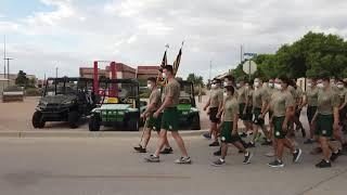 Border Patrol Academy Class 1138's Patch Run