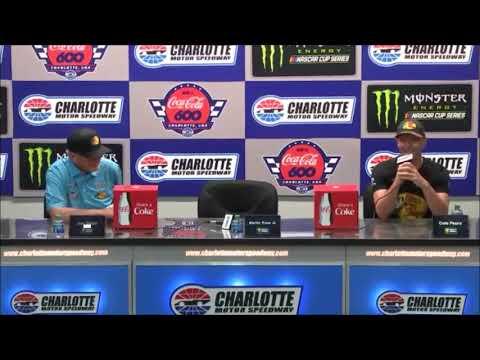 2019 NASCAR Coca Cola 600 post-race Q&A