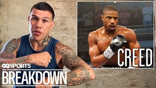 Pro Boxer Gabriel Rosado Breaks Down Boxing Scenes from Movies | GQ Sports