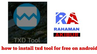 how to download txd tool android - Free video search site