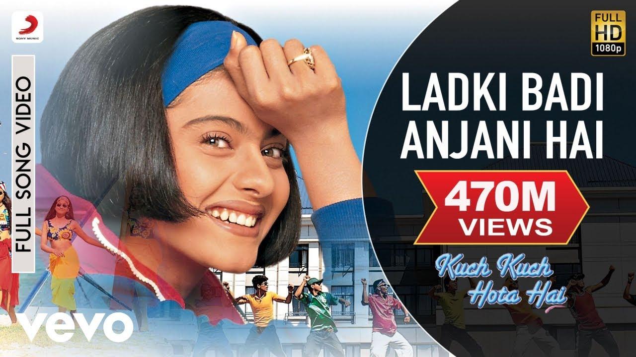 Ladki Badi Anjani Hai Full - Kuch Kuch Hota Hai Shah Rukh Khan,Kajol Kumar Sanu - Kumar Sanu, Alka Yagnik Lyrics in hindi