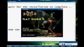 How to DOWNLOAD Diablo2 and install/play without the disc