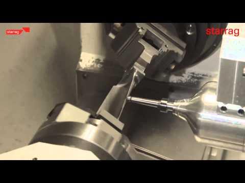 Starrag LX 051 Dengeling - Micro forging for turbine blades