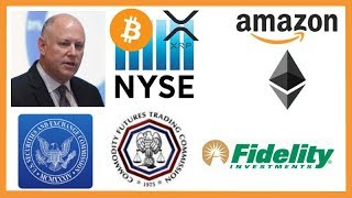"NYSE Chairman ""Crypto Here to Stay"" - Judge Stops SEC - Amazon Ethereum - Fidelity Crypto VC Fund"