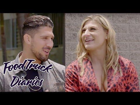 Kayla Harrison   Food Truck Diaries   BELOW THE BELT with Brendan Schaub