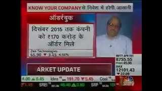 CNBC AWAAZ Zen Technologies CMD, Ashok Atluri's Interview
