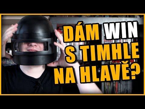 Dokážu dát win s helmou na hlavě? (PUBG helma z 3d tiskárny)