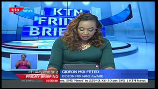 Gideon Moi feted at Windsor hotel for Legislator of the Year-Oil and Gas Award