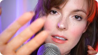 ASMR Soft Mouth Sounds and Slow Face Touching to Make You Sleepy